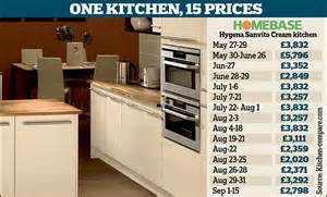 homebase kitchen furniture customers by yo yo pricing on discount kitchens