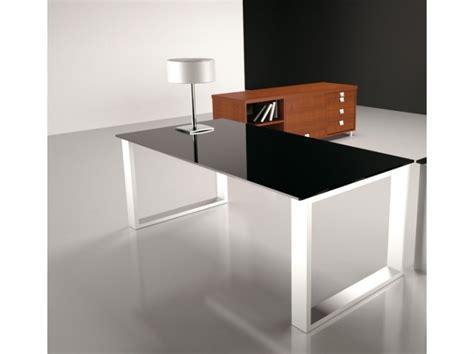 rd bureau bureau et table en verre noir et stratifié miroir