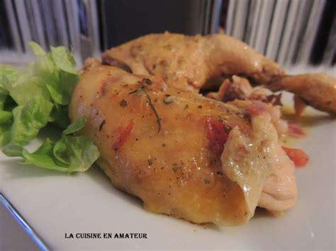 cuisine en cocotte recettes de cuisse de poulet en cocotte