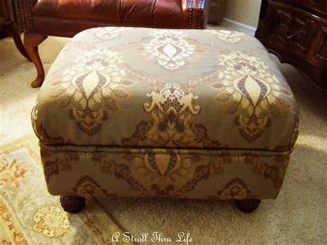 How To Build A Ottoman how to make an ottoman square tufted storage