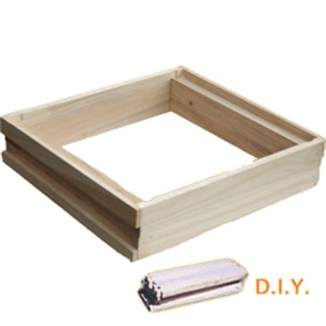 wbc diy shallow box bell honey bees beekeeping supplies
