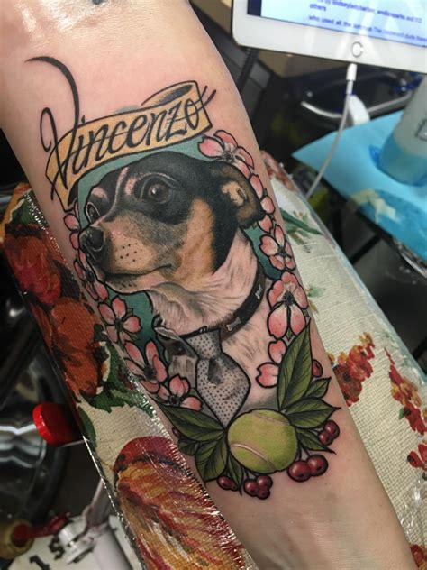 memorial piece     pup rip   man bear