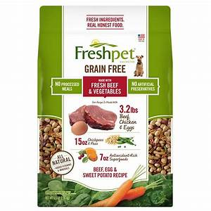 freshpet fresh baked grain free beef egg sweet potato With freshpet dog food