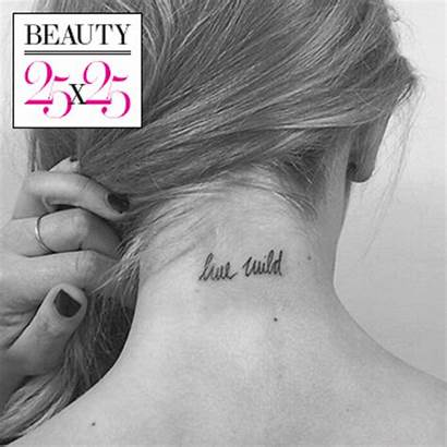 Tattoo Tiny Tattoos Glamour Celebrity Miss Shy
