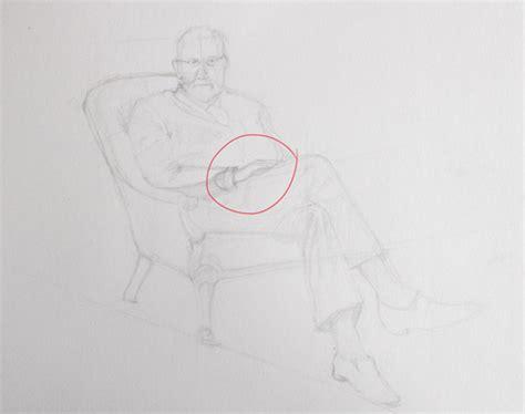 comment dessiner un personnage assis exercice de