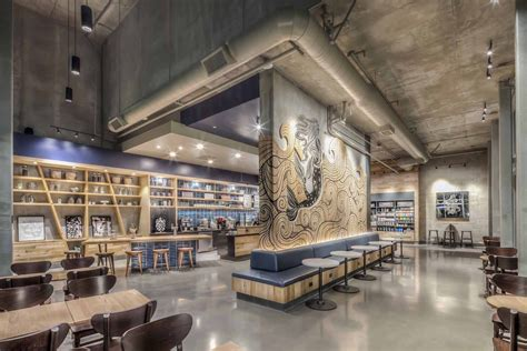 Since when did coffee shops become a thing? The 50 Most Beautiful Starbucks Around the World | Cafe design, Coffee shop design, Starbucks shop