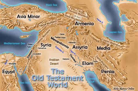 map    testament world bible history