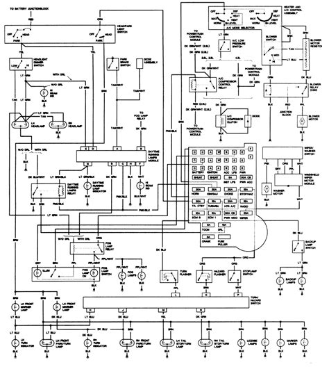 1988 Chevy S10 Fuse Box by 1976 Chevy G20 Free Wiring Diagram Wiring Library