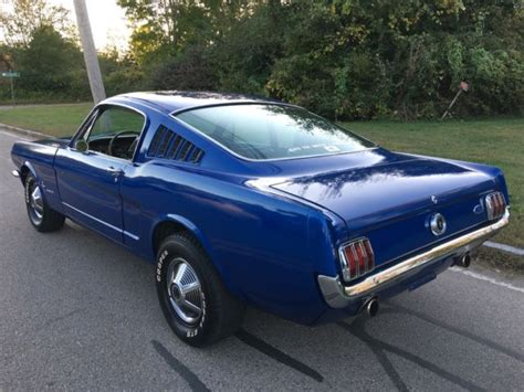 Mustang 2 Years by 1965 Ford Mustang 2 2 Fastback 289 With Aluminum Heads