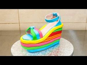 Cakes Buttercream ruffles and Heels on Pinterest