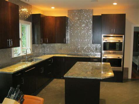 modern backsplash modern kitchen boston  tile