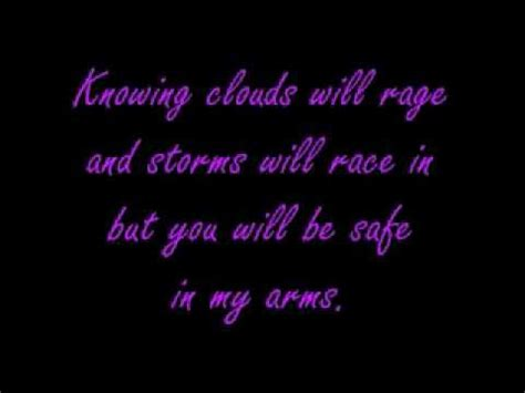 In My Arms By Plumb With Lyrics Youtube