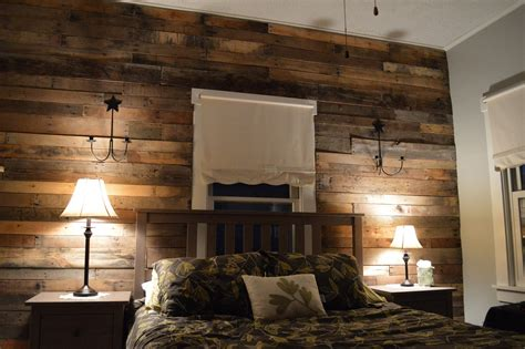 pallet wood accent wall wood pallet wall for hotter home interior decor