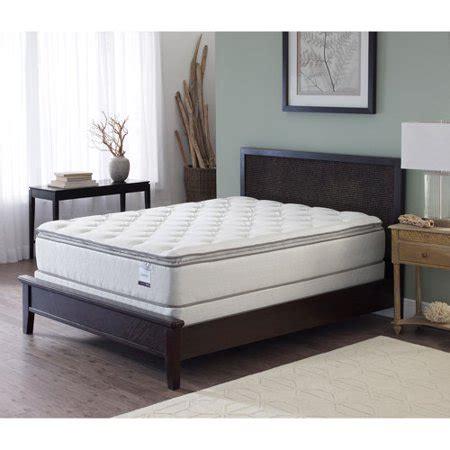 slumber 1 10 pillow top mattress sleep inc slumber pillow top mattress sizes