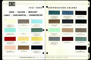 1965 Ford Falcon Paint Colors