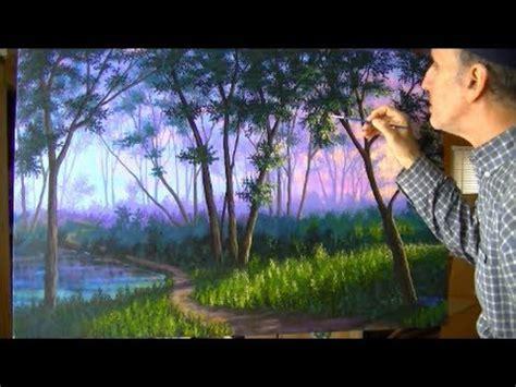 comment peindre brouillard for 234 t 3 4 a l acrylique sur la toile