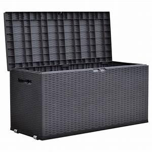 Kissenbox Wasserdicht Rattan : gartentruhe nizza rattan design rollbox auflagenbox real ~ Markanthonyermac.com Haus und Dekorationen