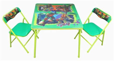 childrens folding table and chairs walmart tmnt activity table and chairs set walmart ca