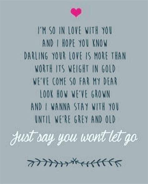 let i go testo best 25 wedding song lyrics ideas on elvis