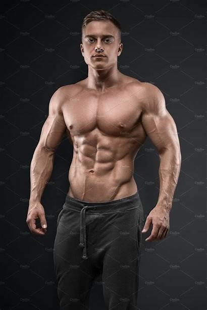 Bodybuilder Strong Sterke Culturista Potere Forte Power