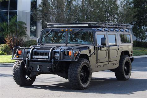 2000 Am General Hummer H1 In Matte Black Full Restoration