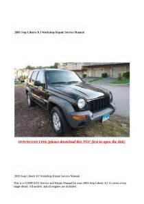 2003 Jeep Liberty Kj Workshop Repair Service Manual By
