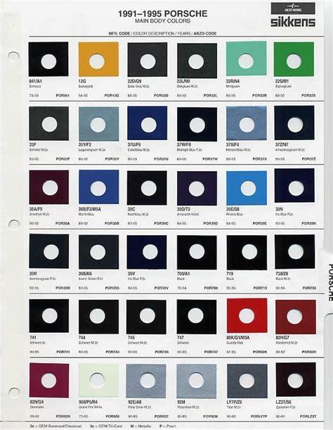 porsche blue paint code auto paint codes 1995 993 c2 paint code paint brand
