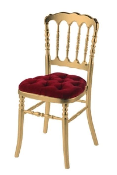 chaise dorée location chaise napoléon dorée