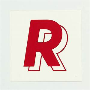 17 best images about the letter r on pinterest behance With screen printing letters