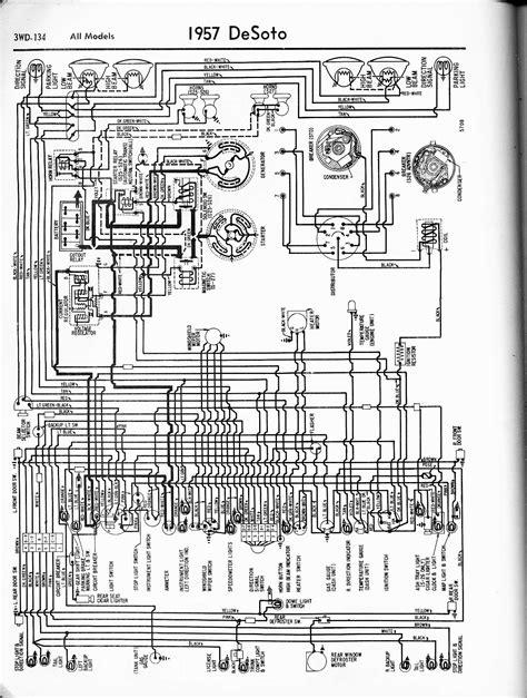 Wiring Diagram 1959 Chrysler by De Soto Wiring Diagrams 1957 1965