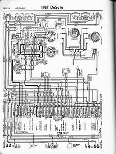 De Soto Wiring Diagrams  1957