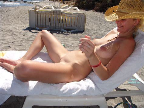 Shaved Nude In Beach Lounger October Voyeur Web