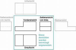 Technische Zeichnung Ansichten : grundlagen ansichten ~ Yasmunasinghe.com Haus und Dekorationen