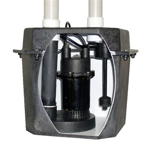 under sink pump system everbilt 0 25 hp pre plumbed sink tray system sump pump