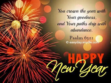 Inspirational Religious New Year Quotes