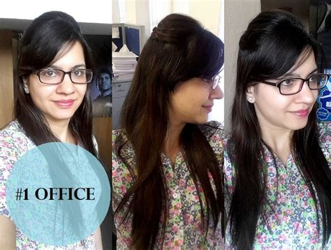 top 4 easy hairstyles for girls with medium hair office