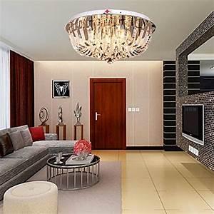 Lampe Für Wohnzimmer : oofay light runde kristall celling lampe f r wohnzimmer lampe schlafzimmer esszimmer ~ Eleganceandgraceweddings.com Haus und Dekorationen