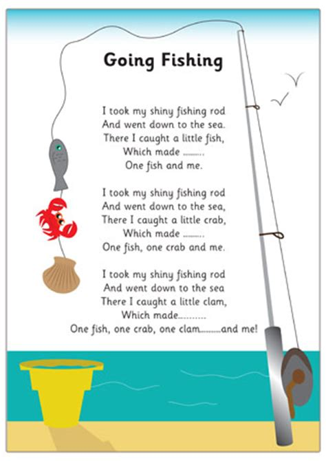 fishing rhyme eyfs  early years primary