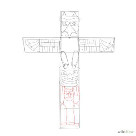 How To Draw A Totem Pole Bear