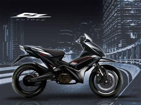 gambar foto  sepeda motor honda revo cc modifikasi