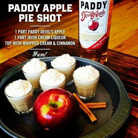Shake head until cinnamon is dissolved, and consume. Apple pie shot | Irish cream liqueur, Apple pie shots, Yum