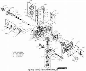 Gravely 915404  000101 -   2550 Yj Parts Diagram For Transaxle