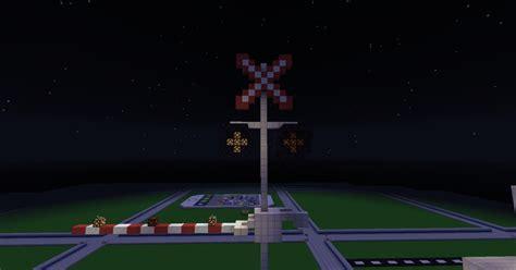 Railroad Crossing Canada Minecraft Project
