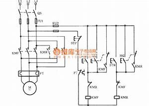 Three-phase Motor Contactor Interlock Action For Switching Circuit - Relay Control