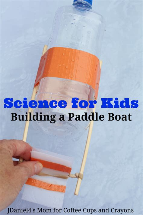 science  kids build  paddle boat bigdiyideascom
