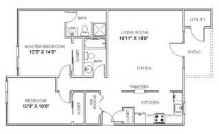 Two Bedroom Apartment Floor Plan Photo by Apartment Floor Plans Two Bedroom Apartments In Clifton