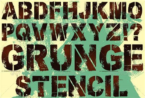 printable letter stencils  sample