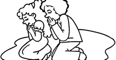 praying hands  black  white clipart  clip art