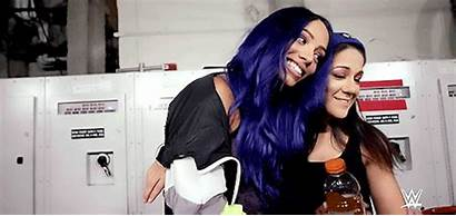 Bayley Sasha Banks Wwe Bond Hug Connection