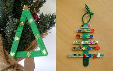 basteln kinder weihnachten basteln f 252 r weihnachten mit eisstielen 20 deko ideen und anleitungen